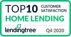 Home Lending Top ten Customer Satisfaction Accolade for fourth quarter of 2020